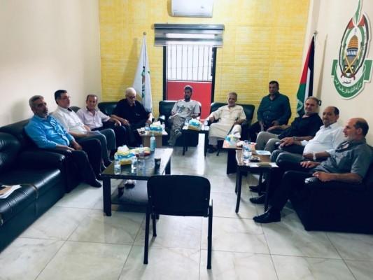 تحالف القوى الفلسطينية في صيدا يدعو  الأونروا  للقيام بخطة طوارىء إغاثية