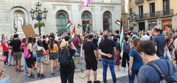 وقفات احتجاجية في مدن إسبانية تنديدا بمخطط الضم