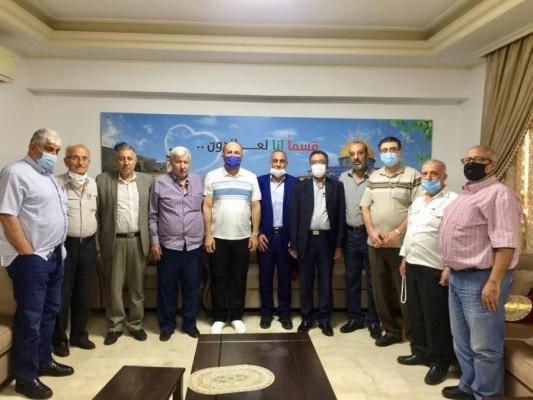 قوى التحالف تلتقي مسؤول العلاقات الفلسطينية في حركة أمل لتدارس أوضاع شعبنا الفلسطيني في لبنان