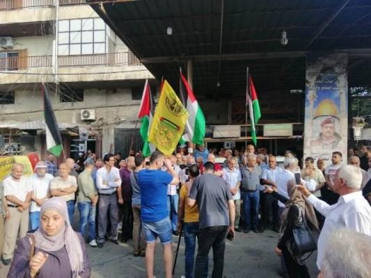 وقفة في  البداوي  رفضاً لقرار الضم الصهيوني