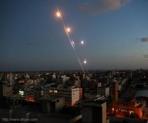 صفارات الانذار تدوي اعلام الاحتلال: سقوط صاروخ في المجلس الاقليمي  اشكول