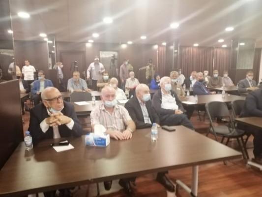 لقاء وطني لبناني فلسطيني عربي تنديدا بخطة الضم الصهيونية وتأكيدا على دعم الشعب الفلسطيني