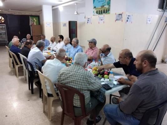 الأحزاب والفصائل في إقليم الخروب: ندين الأبواق التي تطال من الشعب الفلسطيني