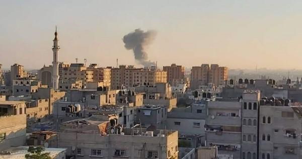 المقاومة ترد باستهداف  الغلاف .. للمرة الثانية خلال ساعتين.. طائرات الاحتلال تشن غارات على غزة