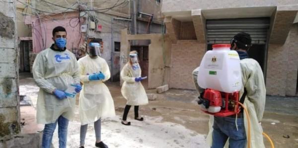 أول حالة وفاة بفيروس  كورونا  في مخيم البرج الشمالي