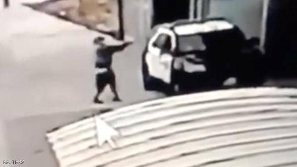 هجوم مسلح على سيارة دورية أمريكية في لوس انجلوس فلسطين اليوم - وكالات