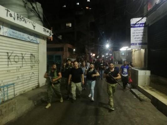 أبو الكفاح: لاستئصال آفة المخدرات.. أبوعرب: الأمن في المخيمات خط أحمر