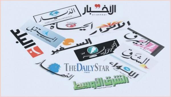 عناوين الصحف  ليوم الجمعة 3 تمّوز 2020