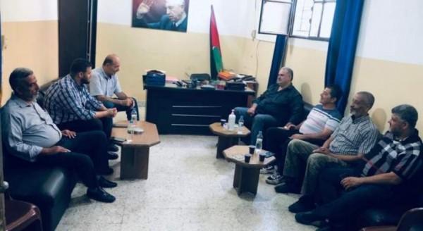 حماس  تجول على الفصائل الفلسطينية والإسلامية في  عين الحلوة  بعد زيارة هنية