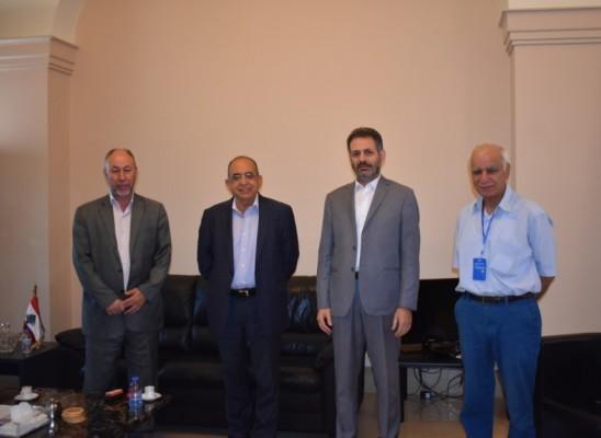 الجهاد الإسلامي  تلتقي رئيس لجنة الحوار اللبناني – الفلسطيني