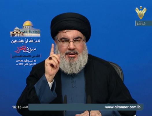 السيد نصر الله: موقف الشعب الفلسطيني هو المفتاح لكل المرحلة التاريخية الآتية