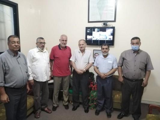 الجهاد الاسلامي و التحرير الفلسطينية  في صور تطالب الأونروا بخطة طوارئ عاجلة