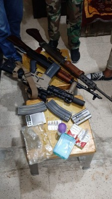 مداهمات لأوكار تجار المخدرات في  شاتيلا