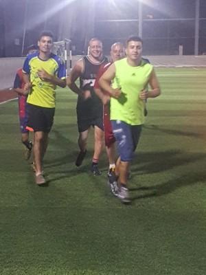 حصة تدريبية لنادي شباب العهد الرياضي-مخيم عين الحلوة صيدا