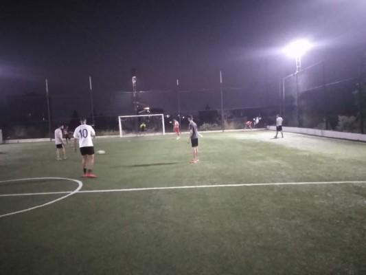 حصة تدريبية لنادي العودة الرياضي-مخيم البرج الشمالي-صور
