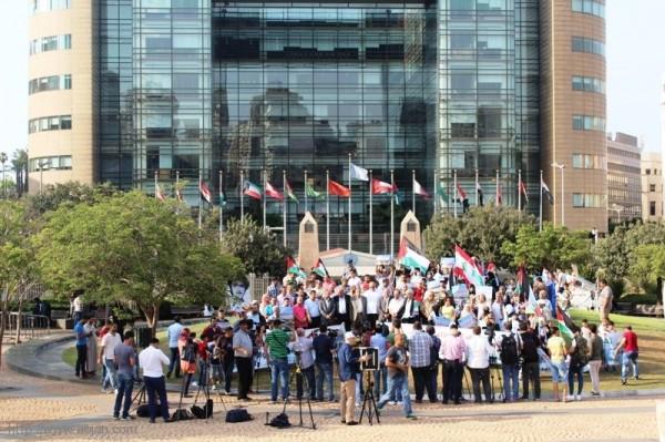 الوفاء للقدس ونصرة للاقصى المبارك - في حديقة الاسكوا في وسط بيروت