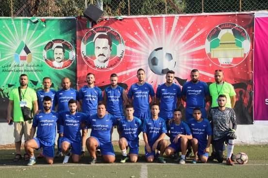 مباراة في كرة القدم ضمن دورة الشهيد أبو علي مصطفى التاسعة عشر-الدور الأول