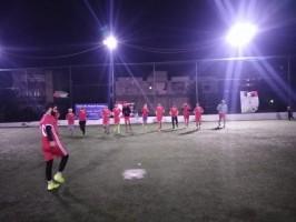 مباراة بين فريق العودة وفريق الفدائي (الفريق الأول) على ملعب كلاسيكو حمدان   مخيم برج الشمالي