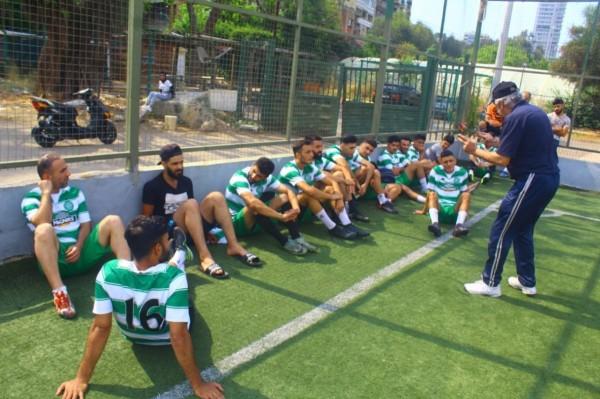 مباراة ودية بين فريق شهداء الأقصى وفريق بيت المقدس