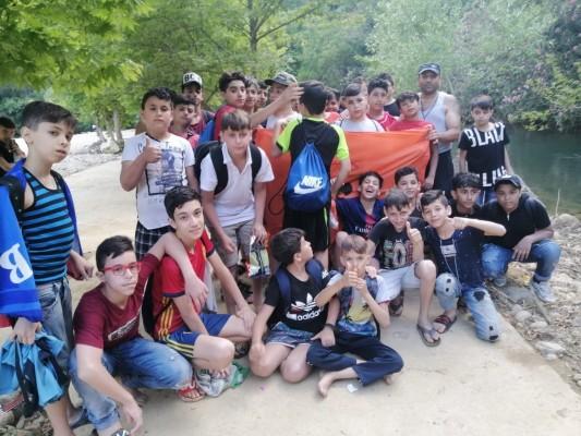 نشاط كشفي لجميعة كشافة فلسطين