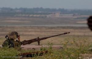 العدو الاسرائيلي يستهدف المزارعين الفلسطينيين جنوب غزة
