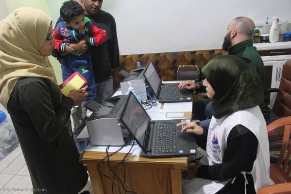 يوماً صحيا مجانيا تخصصيا دعماً للشعب الفلسطيني الصامد عيادات جمعية الهلال الاحمر الفلسطيني (مستشفى بلسم) صور