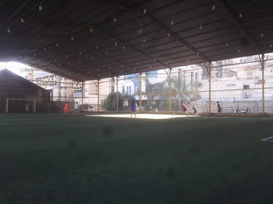حصة تدريبية لنادي شهداء الأقصى-مخيم برج البراجنة