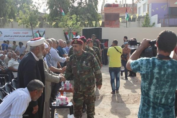 لجان العمل في المخيمات تحيي يوم العودة 15 ايار في مخيم الرشيدية
