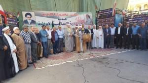 السلة الرمضانية من سفارة الجمهورية الاسلامية الايرانية في لبنان الى الشعب الفلسطيني المقاوم