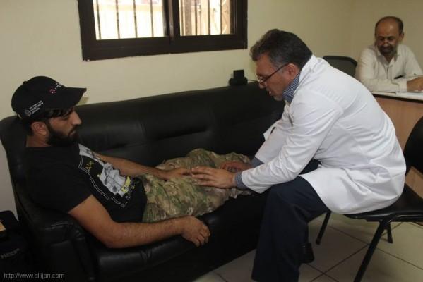 اليوم الصحي  بمخيم مارالياس بيروت