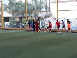 نشاط رياضي لفريق فتيان شهداء الأقصى