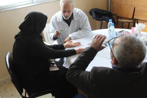 يوماً صحيا مجانيا تخصصيا دعماً للشعب الفلسطيني الصامد في عيادات جمعية الهلال الاحمر الفلسطيني (مستشفى بلسم) الرشيدية صور