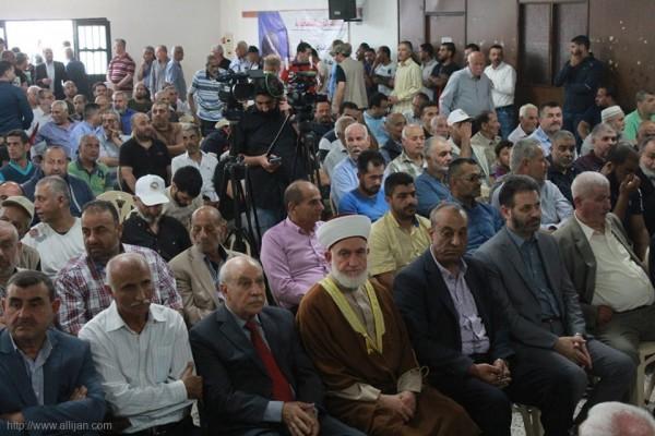 احتفالا جماهيريا في قاعة المركز الثقافي بمخيم البص