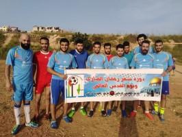 نادي العودة يقيم مباراة ودية  ضد نادي بيسان على ملعب الرمالي