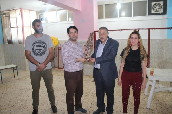 اليوم الصحي في روضة زهرة المدائن بمخيم شاتيلا