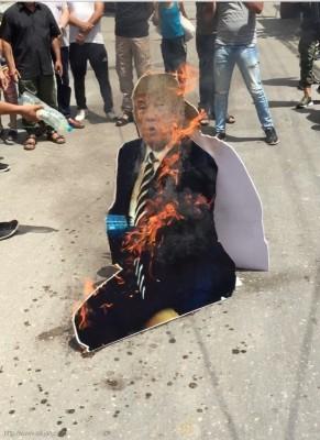 وقفات تضامنية مع مسيرات العودة الكبرى ورفضاً لقرارات ترامب