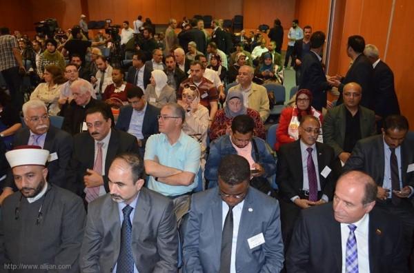 لجان العمل في المخيمات تشارك في المنتدى العربي الدولي من أجل العدالة لفلسطين - تونس 22 و23 نيسان 2016