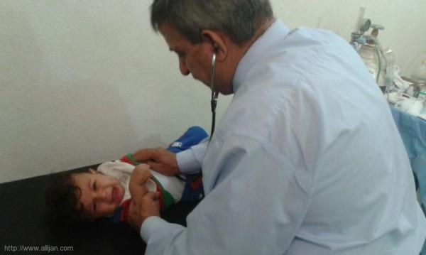 اليوم الصحي المجاني في الذكرى السنوية الاولى لانتفاضة القدس