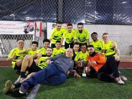 مباراة كأس الشهيدين بين فريق شباب العهد  و فريق شباب الغازية