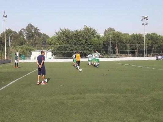 مباراة رياضة في كرة القدم