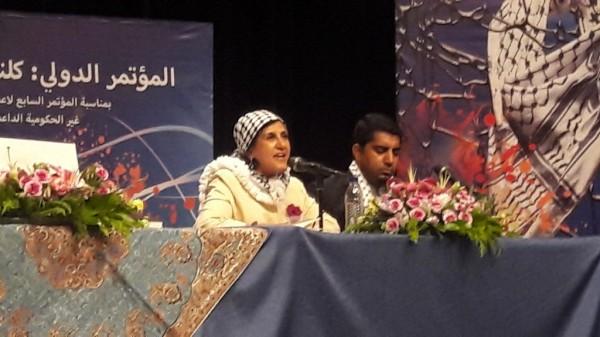 لجان العمل في المخيمات تشارك بالمؤتمر العالمي للمنظمات الغير حكومية لدعم الشعب الفلسطيني في طهران