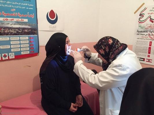 يوماً صحيا مجانيا تخصصيا دعماً للشعب الفلسطيني الصامد في مستشفى القدس مخيم عين الحلوة
