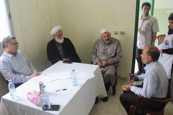 اليوم الصحي(مستشفى بلسم) بمخيم الرشيدية – صور