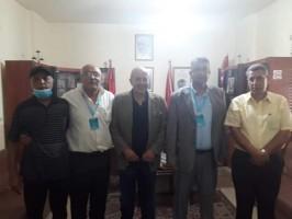 تسليم دفعة من الأدوية للجبهة الشعبية لتحرير فلسطين مقدمة من لجان العمل في المخيمات الى جمعية الشفاء الطبية في مخيمات الشمال