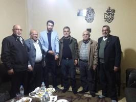 قيادة فصائل تحالف القوى الفلسطينية في منطقة صور تلتقي لجان العمل في المخيمات