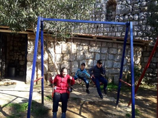 نشاط لجميعة كشافة فلسطين