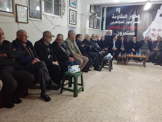 تبريكات بشهادة قائد محور المقاومة في مخيم مار الياس