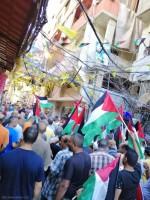 رفضًا لصفقة القرن، واستنكارًا لمؤتمر البحرين التطبيعي - استنكارات و مسيرات و اعتصامات في مخيمات لبنان