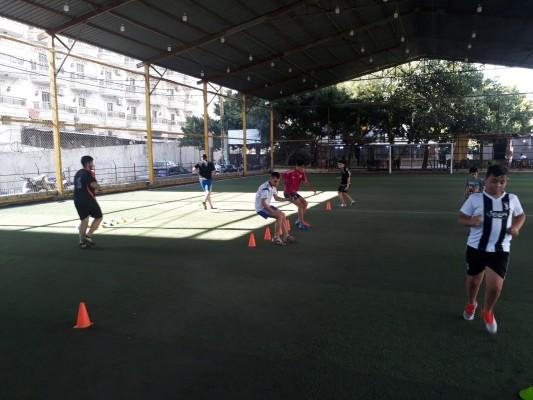 حصة تدريبية لنادي فتيان شهداء الأقصى-مخيم برج البراجنة