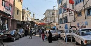 إعتصام شعبي لمطالبة  الأونروا  بمساعدات دائمة في  عين الحلوة